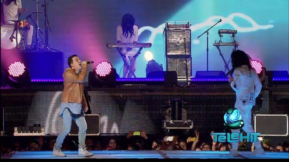 """La agrupación """"The Wookies"""" dijo presente en los """"Premios Telehit"""". (Foto: Telehit)"""