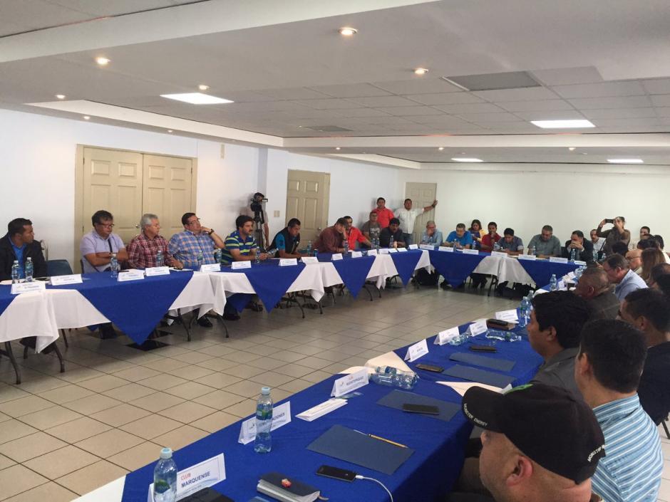 La asamblea sigue sin darle el aval a la Comisión Normalizadora. (Foto: Soy502)