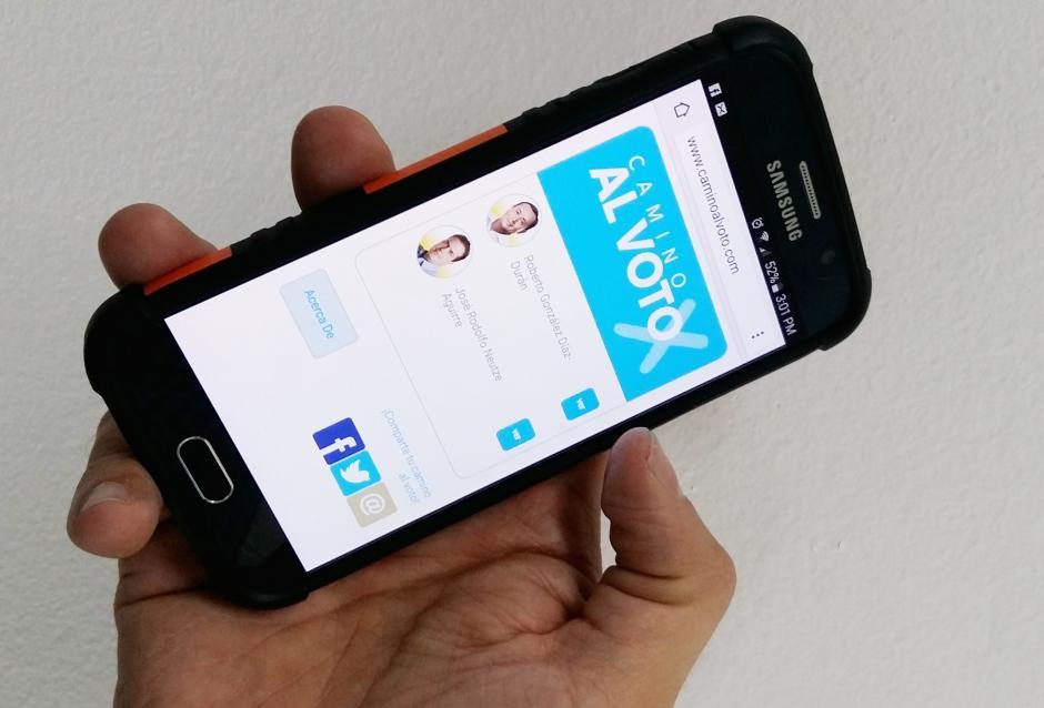 La plataforma también puede ser consultada en dispositivos móviles.