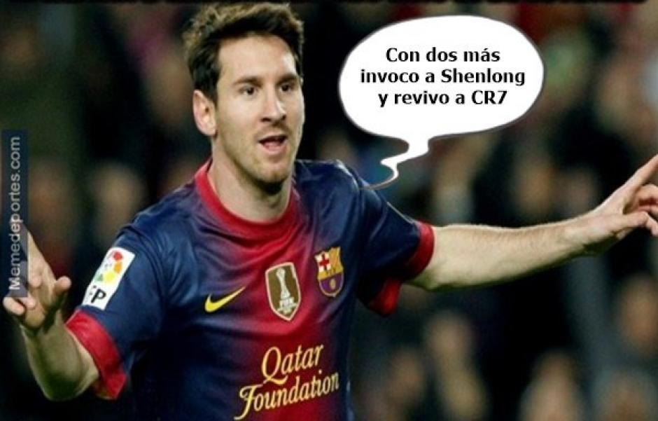 Messi no podía faltar en los memes del Balón de oro. (Foto: Twitter)