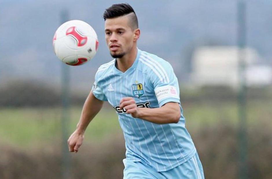Stefano disputa su tercera temporada con el Chemnitzer FC. (Foto: Twitter)
