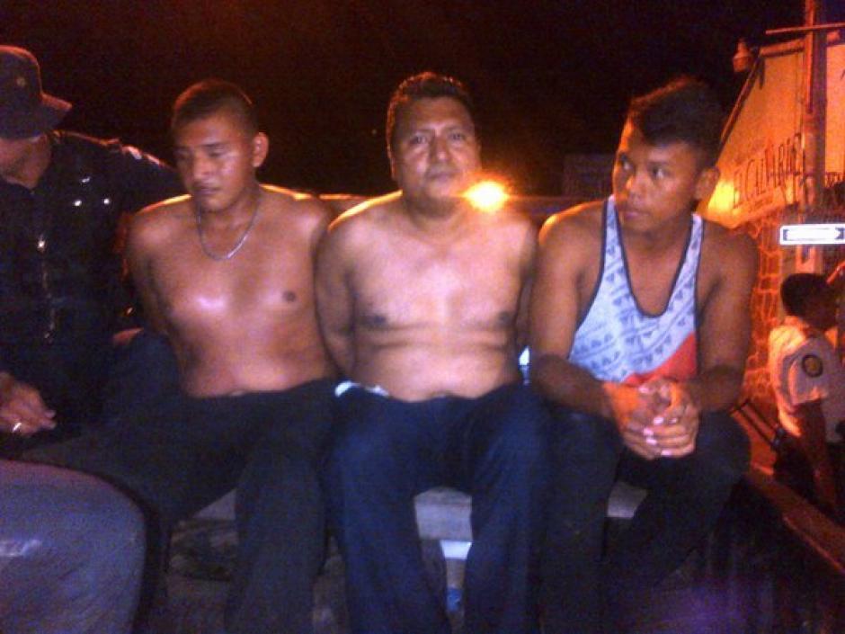 La PNC capturo ya a algunas personas involucradas en los disturbios. (Foto: PNC)