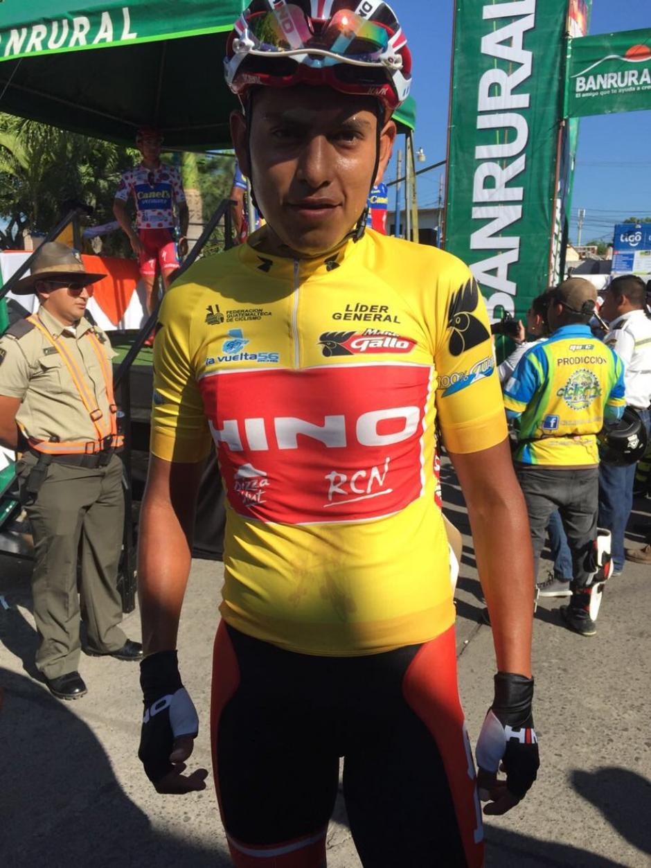 Alder Torres sigue de líder general de la Vuelta. (Foto: Nuestro Diario)