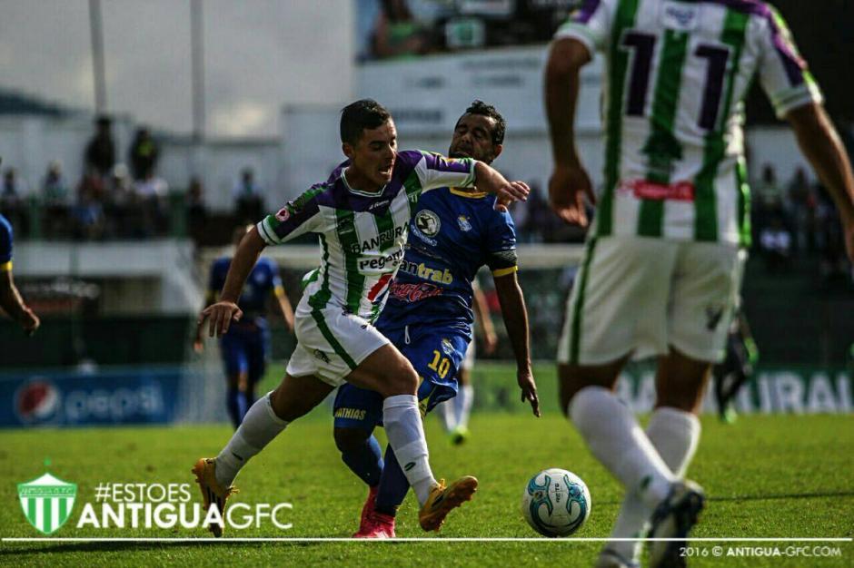 Antigua subió a la tercera posición del Torneo Apertura. (Foto: Antigua)