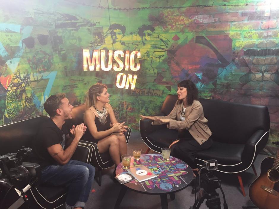 La cantautora guatemalteca visita varios medios en Argentina. (Foto: Twitter)