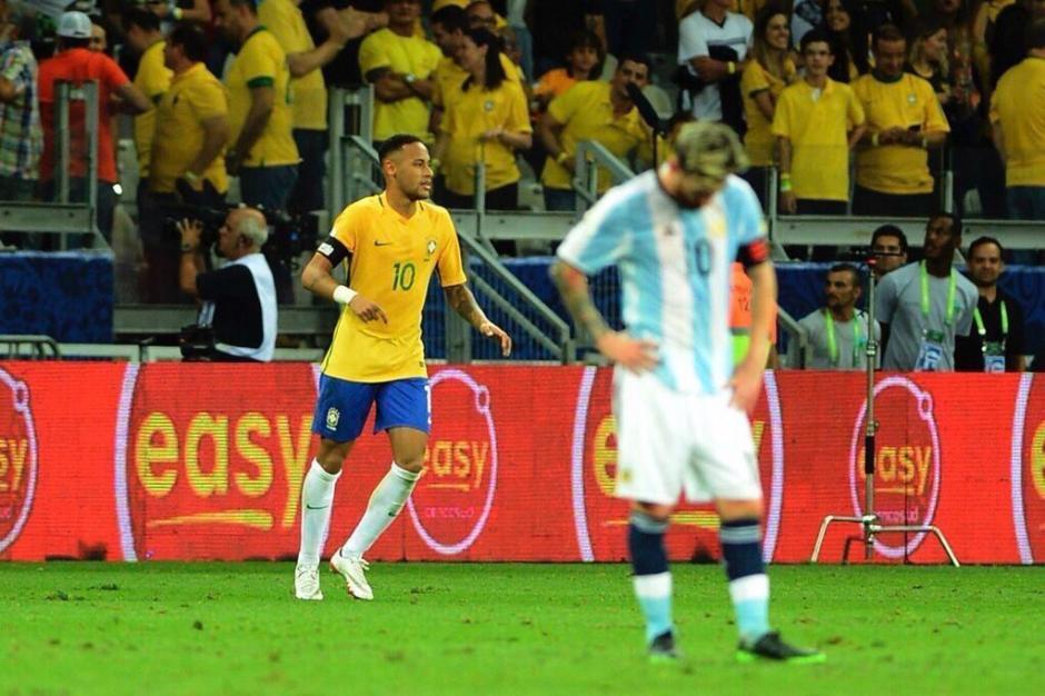 Neymar fue un genio y Messi ni apareció. (Foto: Twitter)
