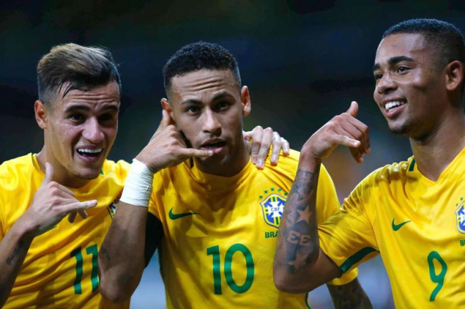Brasil y Neymar dominan la eliminatoria rumbo a Rusia 2016. (Foto: Twitter)