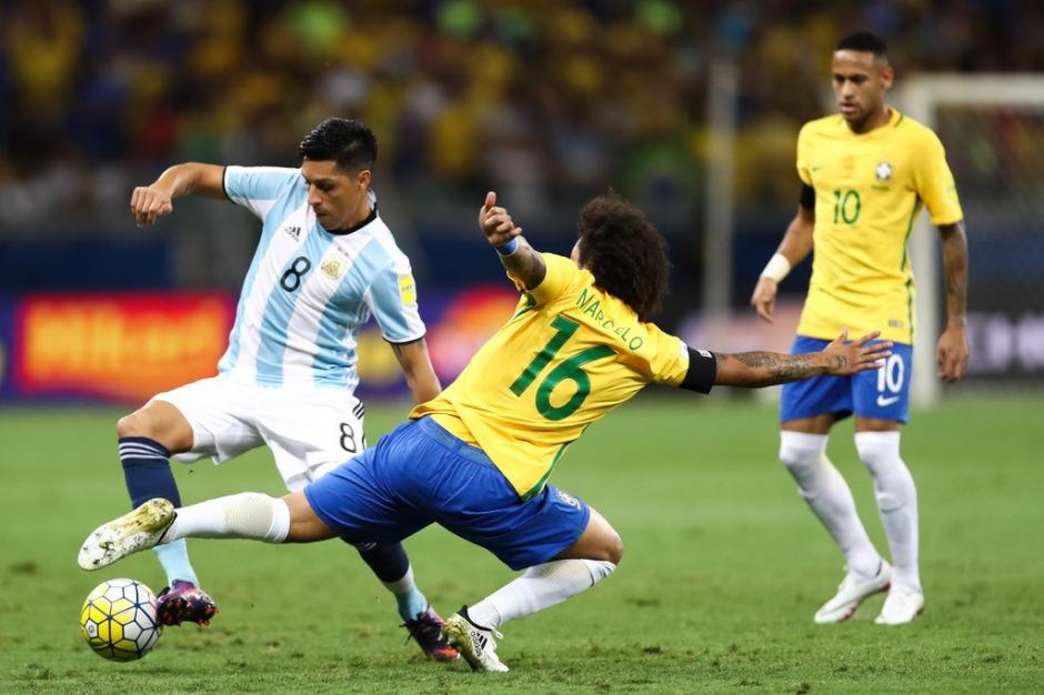 Brasil superó sin problemas 3-0 a Argentina. (Foto: Twitter)