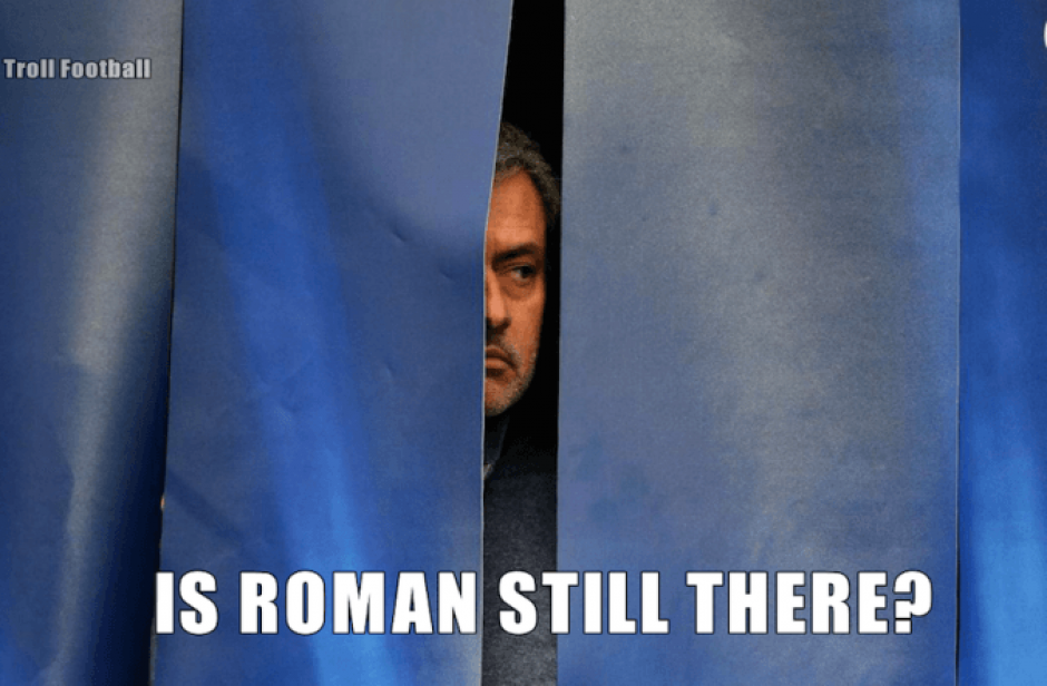 Mourinho mantuvo un perfil bajo durante las últimas semanas con el Chelsea. (Imagen: sopitas.com)