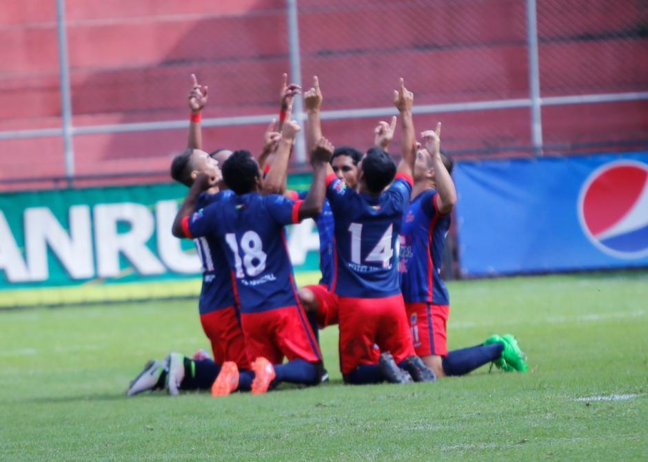 Malacateco es el sorpresivo líder del Torneo Apertura 2016. (Foto: Alejandro Balán/Soy502)