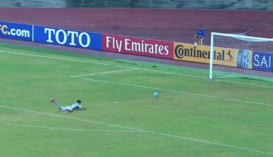 El portero norcoreano se perderá el mundial Sub17. (Foto: Captura de video)