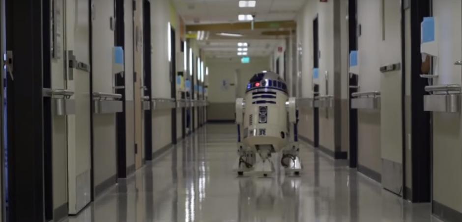 Los personajes de Star Wars visitan un hospital de Los Ángeles. (Foto: hospital de Los Ángeles)
