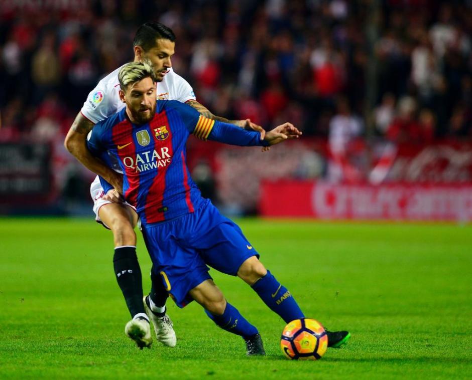 Messi sumó 500 goles con el FC Barcelona . (Foto: Twitter)