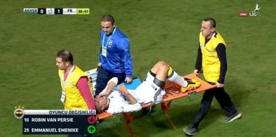 Algunos medios se aventuraron a informar que el delantero podría perder el ojo. (Foto: Agencias)