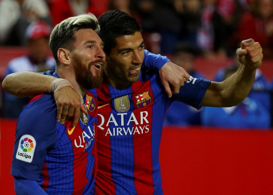 La dupla Messi y Suárez le da el triunfo al Barcelona. (Foto: Twitter)