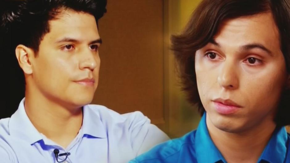 Joao Gabriel y Luis Alberto Aguilera son dos hijos perdidos de Juan Gabriel. (Foto: Twitter)