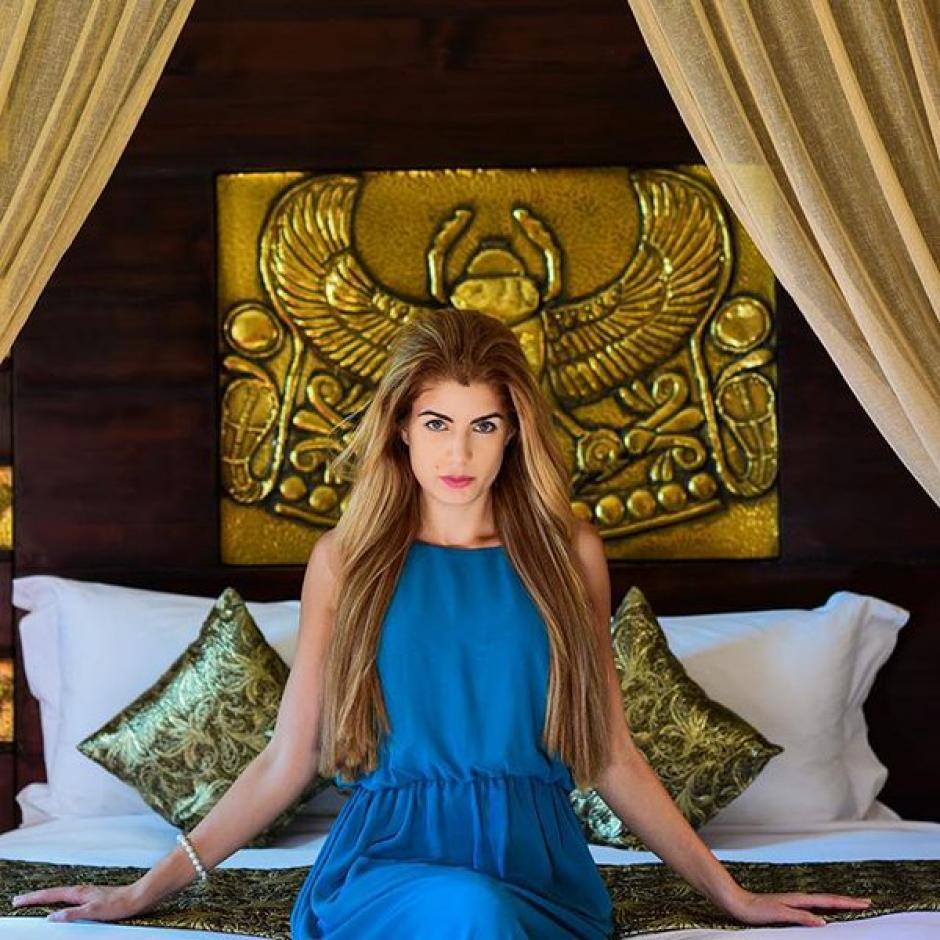 Melanie Martins el motivo de CR7 Marruecos foto 03