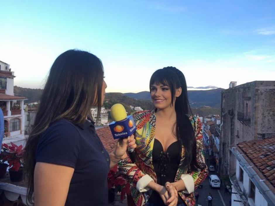 La guapa, Livia Brito, será quien interprete a Maribel Guardia en la serie homenaje a Joan Sebastian. (Foto: Televisa)