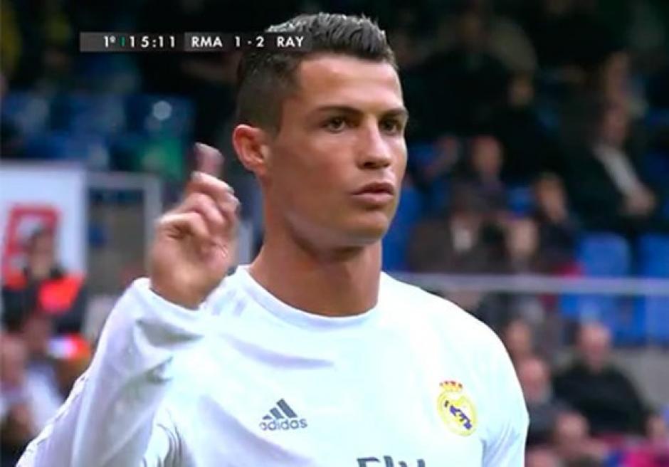 Cr7 contra el Bernabéu foto