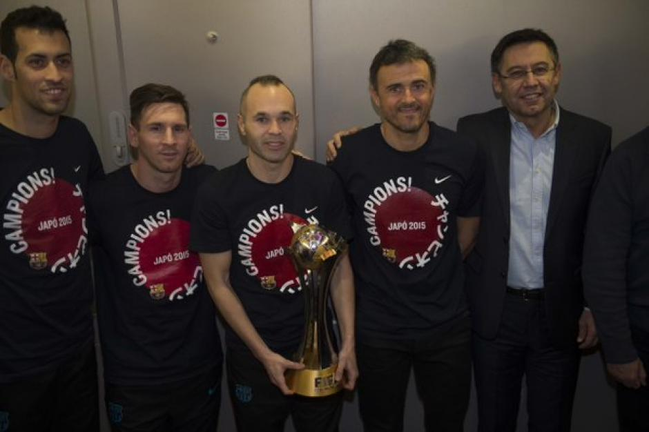 FC Barcelona regresa a casa foto