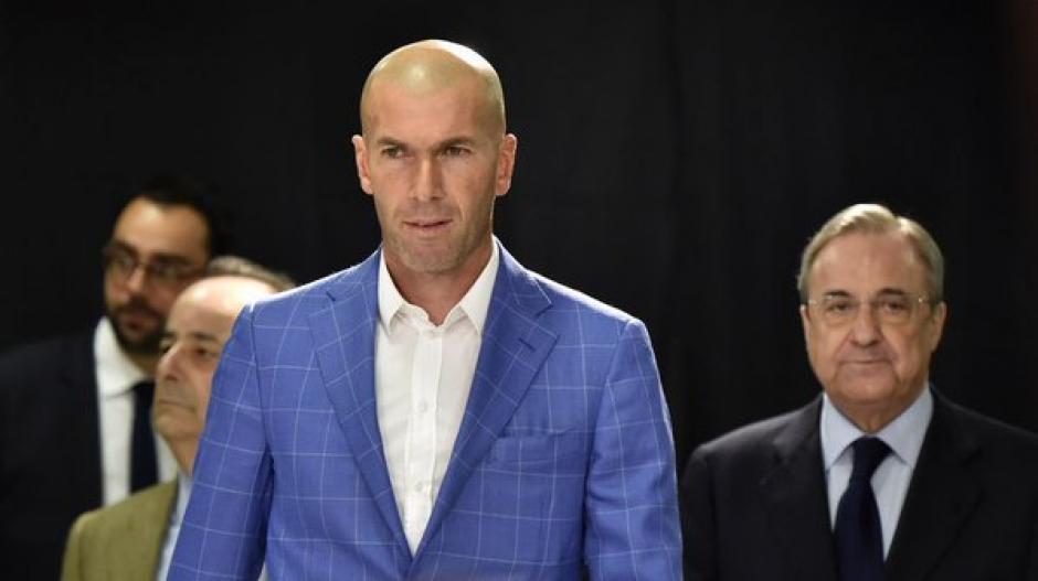 Zidane nuevo dt del Real Madrid foto