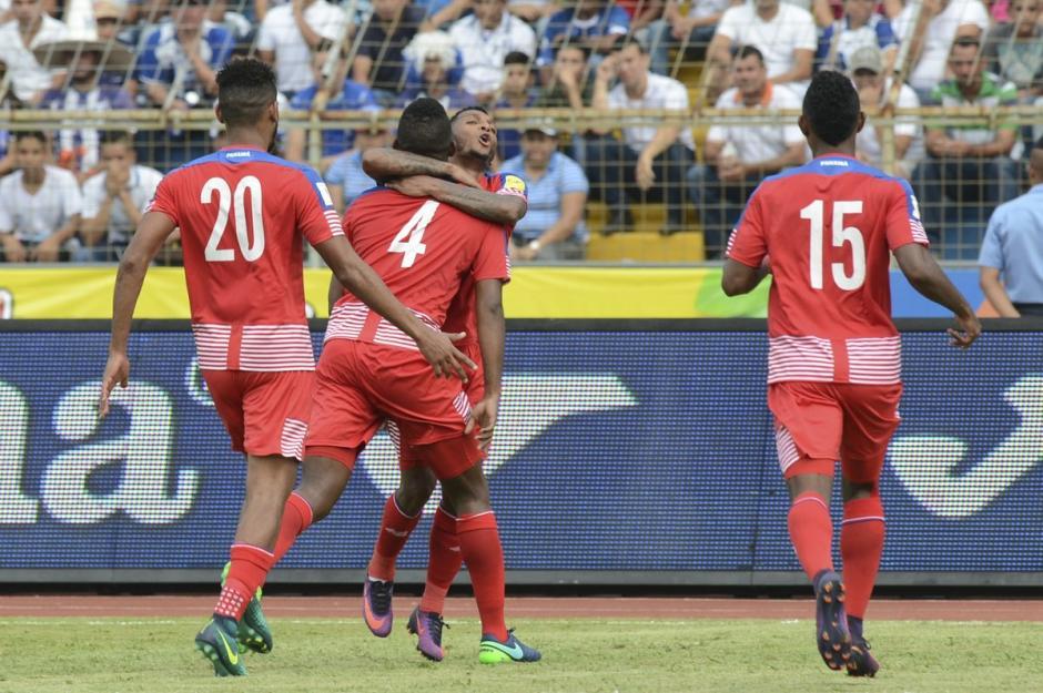 Panamá se llevó el triunfo de San Pedro Sula, Honduras. (Foto: Twitter)