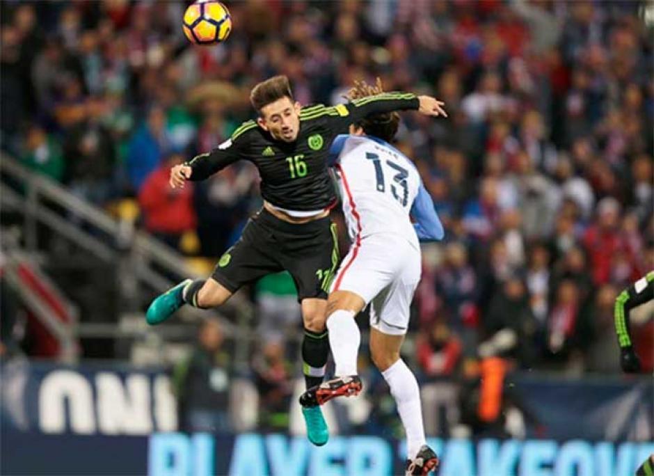 México se defendió bien y fue contundente frente a Estdos Unidos. (Foto: Twitter)