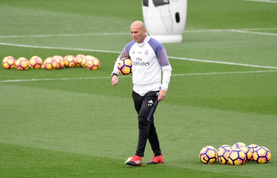 """""""Zizou"""" se declara listo para el derbi. (Foto: Marca)"""