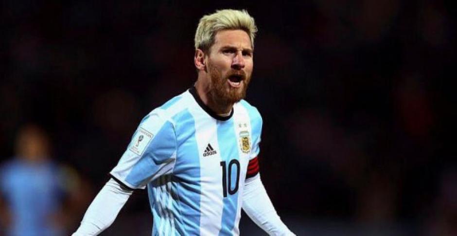 Messi marcó el primer gol de Argentina frente a Colombia. (Foto: Archivo)
