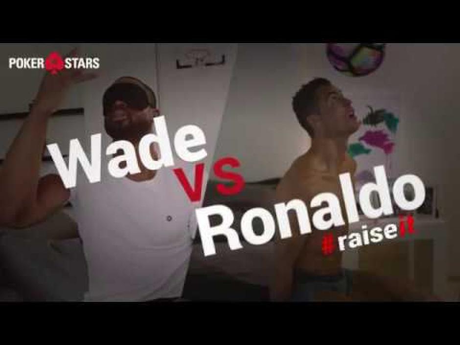 Dwyane Wade y CR7 han hecho algunos video retos antes. (Foto: Twitter)