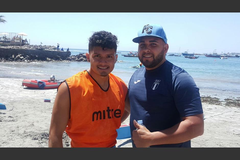 Edvin Buc ganó el segundo oro para Guatetemala en los Bolivarianos de Playa 2016. (Foto: COG)