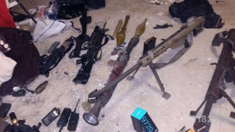 """El Rifle New Barrett .50 fue encontrado en la casa de Joaquín """"El Chapo"""" Guzmán resulta ser de los que han sido rastreados en la operación """"Rápido y furioso""""."""