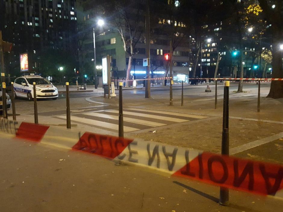 La policía advierte a los parisinos sobre el riesgo a través de las redes sociales. (Foto: Twitter)