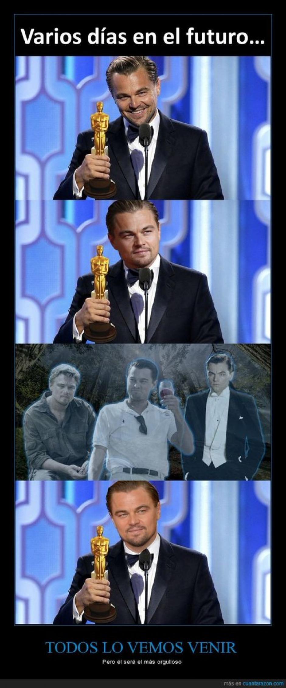 Los memes de Leonardo DiCaprio fueron los más llamativos.