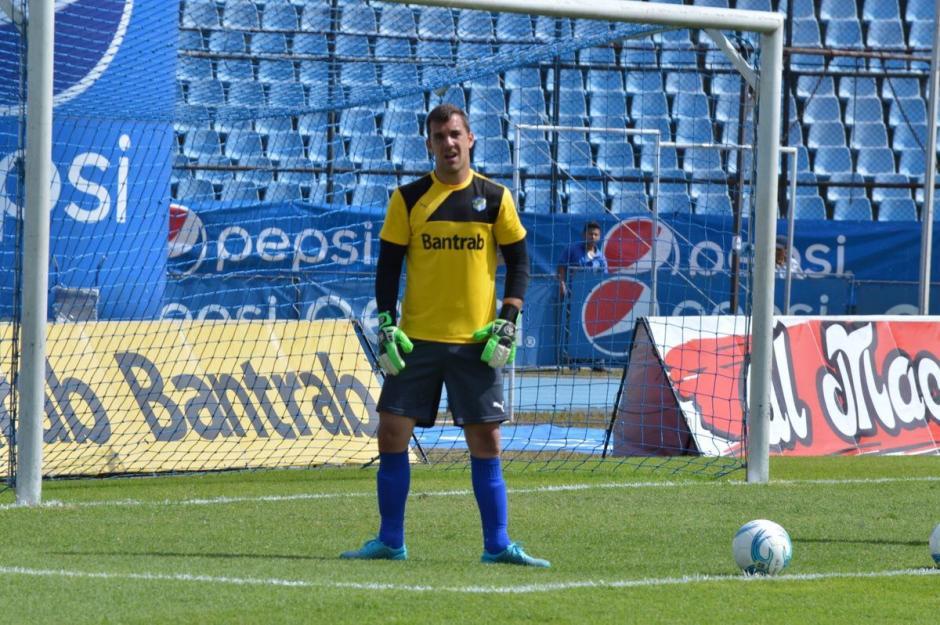 Javier Irazíun tiene una lesión muscular y estará fuera de dos a tres semanas. (Foto: Twitter)