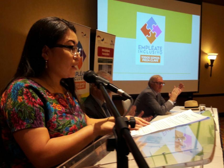 La viceministra de Trabajo habló de la importancia de contratar a personas con discapacidades. (Foto: Ministerio de Trabajo)