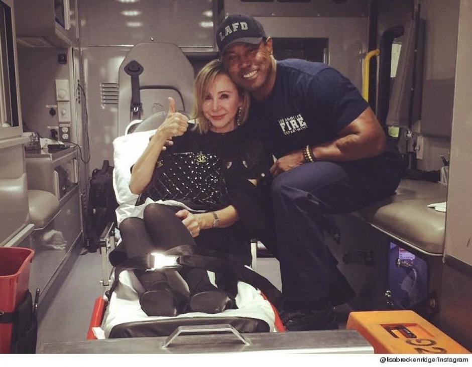 La presentadora fue llevada al hospital para descartar lesiones graves. (Foto: Instagram)