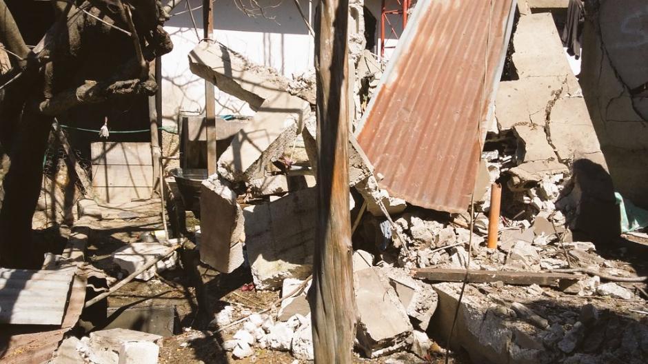 La explosión se registró en aldea Pamocá, San Raymundo. (Foto: Bomberos Voluntarios)