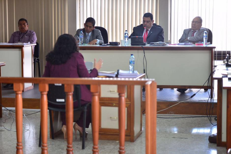 A la jueza se le sindica de enriquecimiento ilícito y lavado de dinero. (Foto: Jesús Alfonso/Soy502)