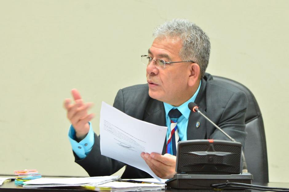 El juez Miguel Ángel Gálvez suspendió la audiencia del caso La Línea. (Foto: Jesús Alfonso/Soy502)
