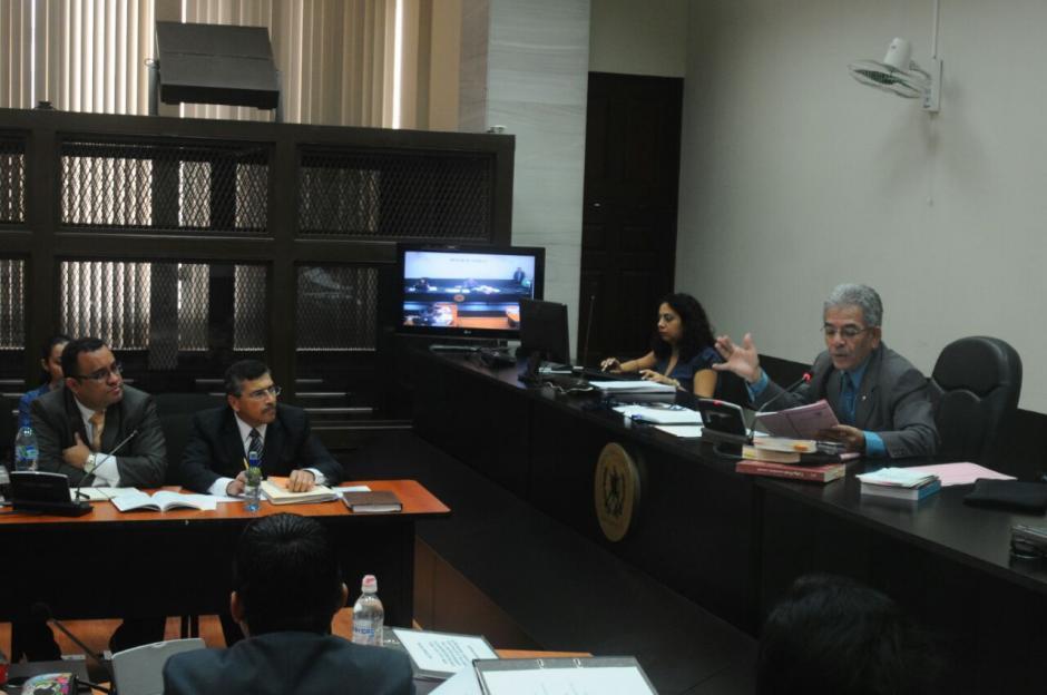 """Francisco Morales alias """"Chico Dólar"""" participó en la audiencia de Edgar Barquín.  (Foto: Alejandro Balán/Soy502)"""