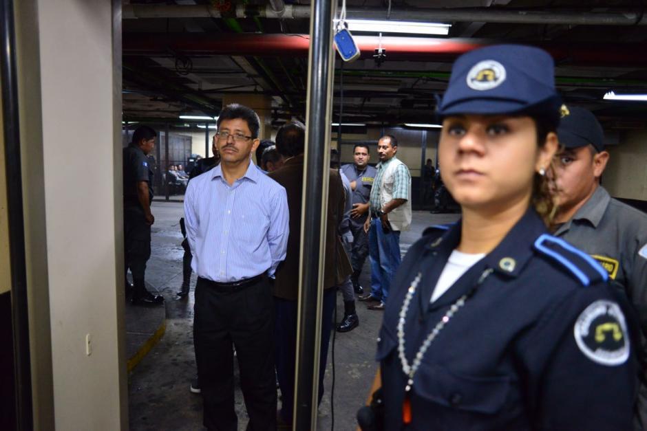 """Omar Franco, el exSuperintendente de la SAT, es otro de los señalados. En la estructura se le conocía como """"anteojitos"""". (Foto:Jesús Alfonso/Soy502)"""