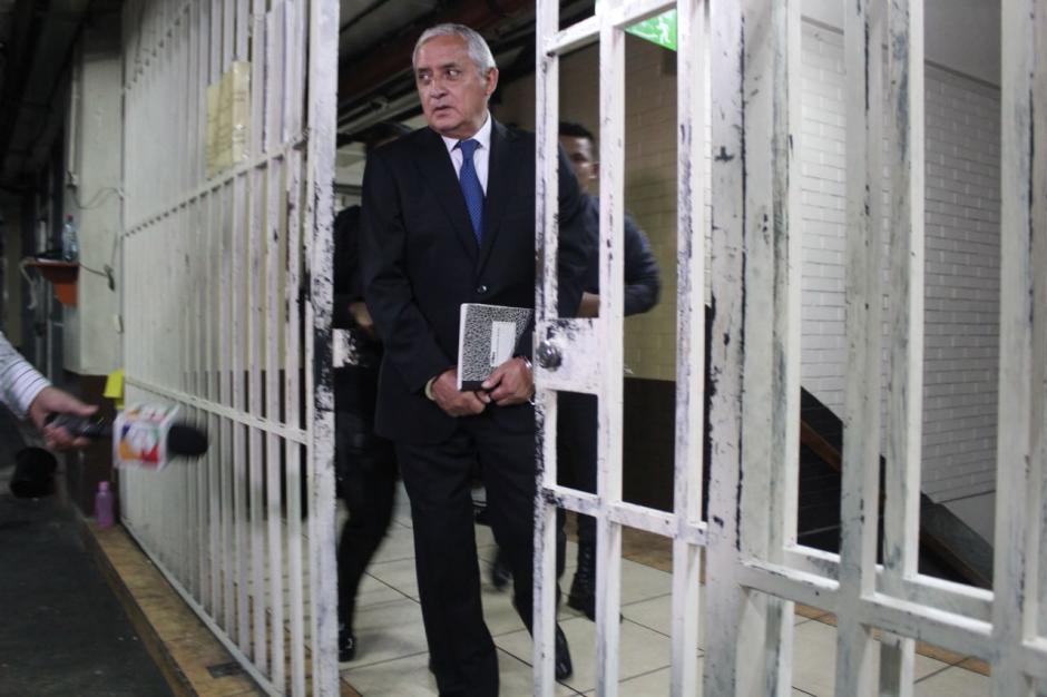 Otto Pérez Molina renunció como Presidente luego de perder su inmunidad.  (Foto: Jesús Alfonso/Soy502)