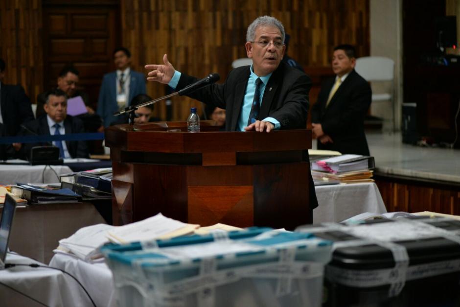 El juez Miguel Ángel Gálvez, le dijo al MP que no se basará en el testimonio de Juan Carlos Monzón. (Foto: Wilder López/Soy502)