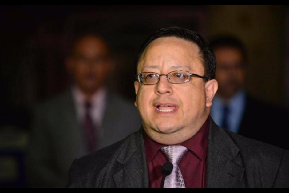 El ministro de Gobernación informó sobre la destitución del Director del Sistema Penitenciario. (Foto: Archivo/Soy502)