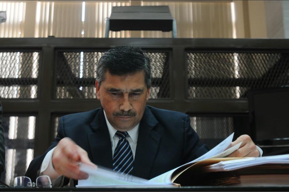 El MP solicitó que se imponga una condena de 2 años de prisión contra Edgar Barquín. (Foto: Alejandro Balán/Soy502)