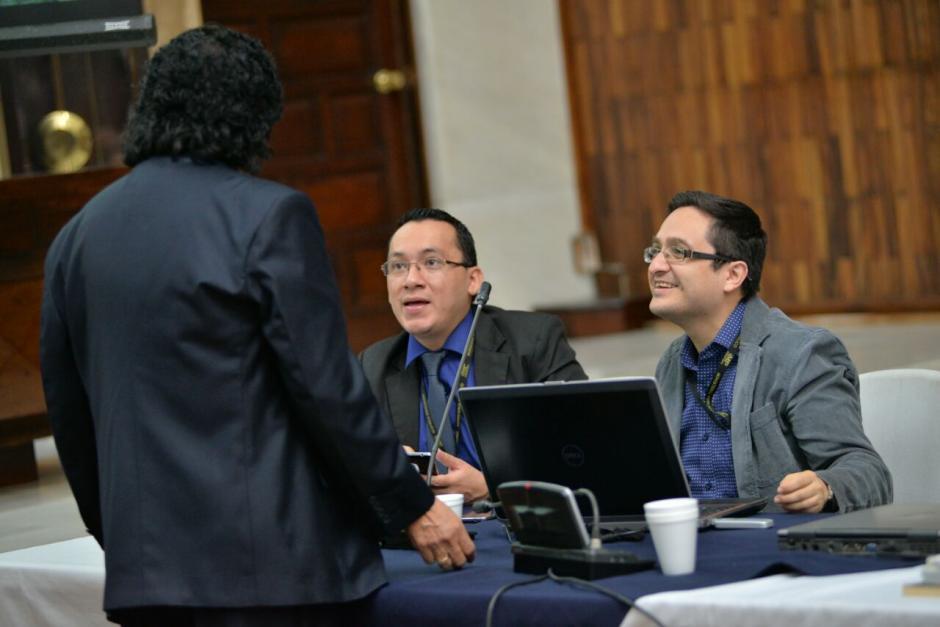 El fiscal Juan Francisco Sandoval en la jornada 12 de audiencia de primera declaración. (Foto: Wilder López/Soy502)