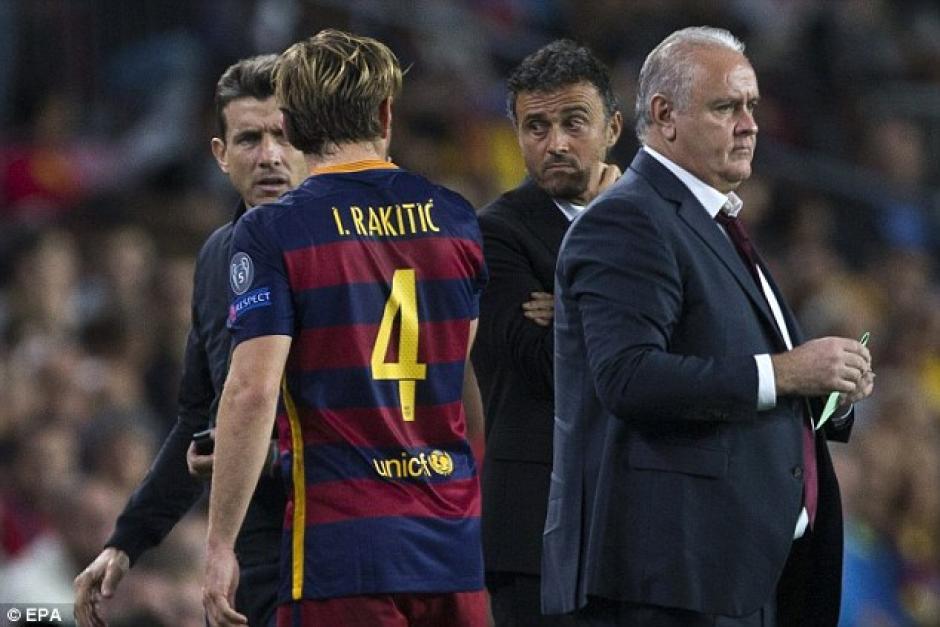 El croata no ha sido considerado en los últimos juegos del Barcelona como titular. (Foto: Daily Mail)
