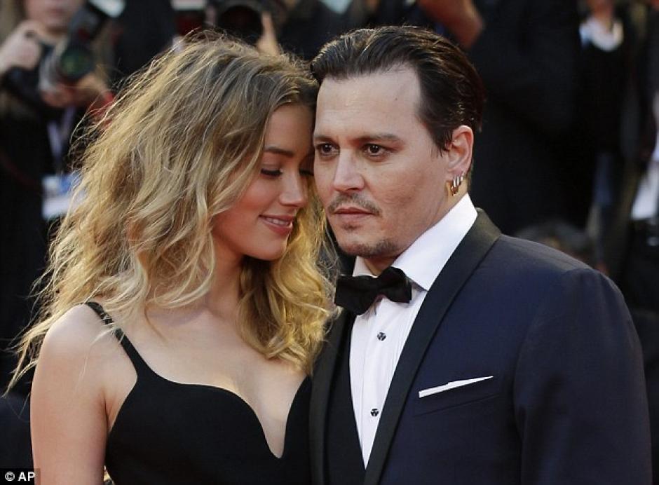 El actor fue acusado por su esposa Amber Heard por violencia doméstica. (Foto: dailymail.co.uk)