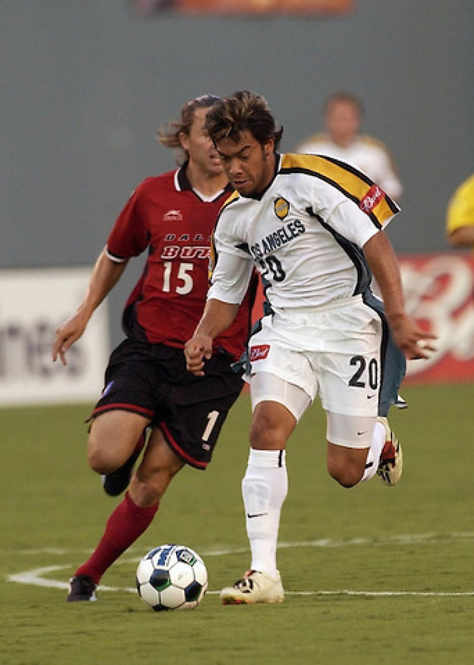 El guatemalteco marcó un estilo propio en el fútbol estadounidense.
